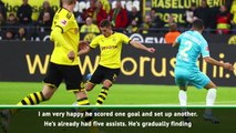 Favre delighted by Hazard's first Dortmund goal