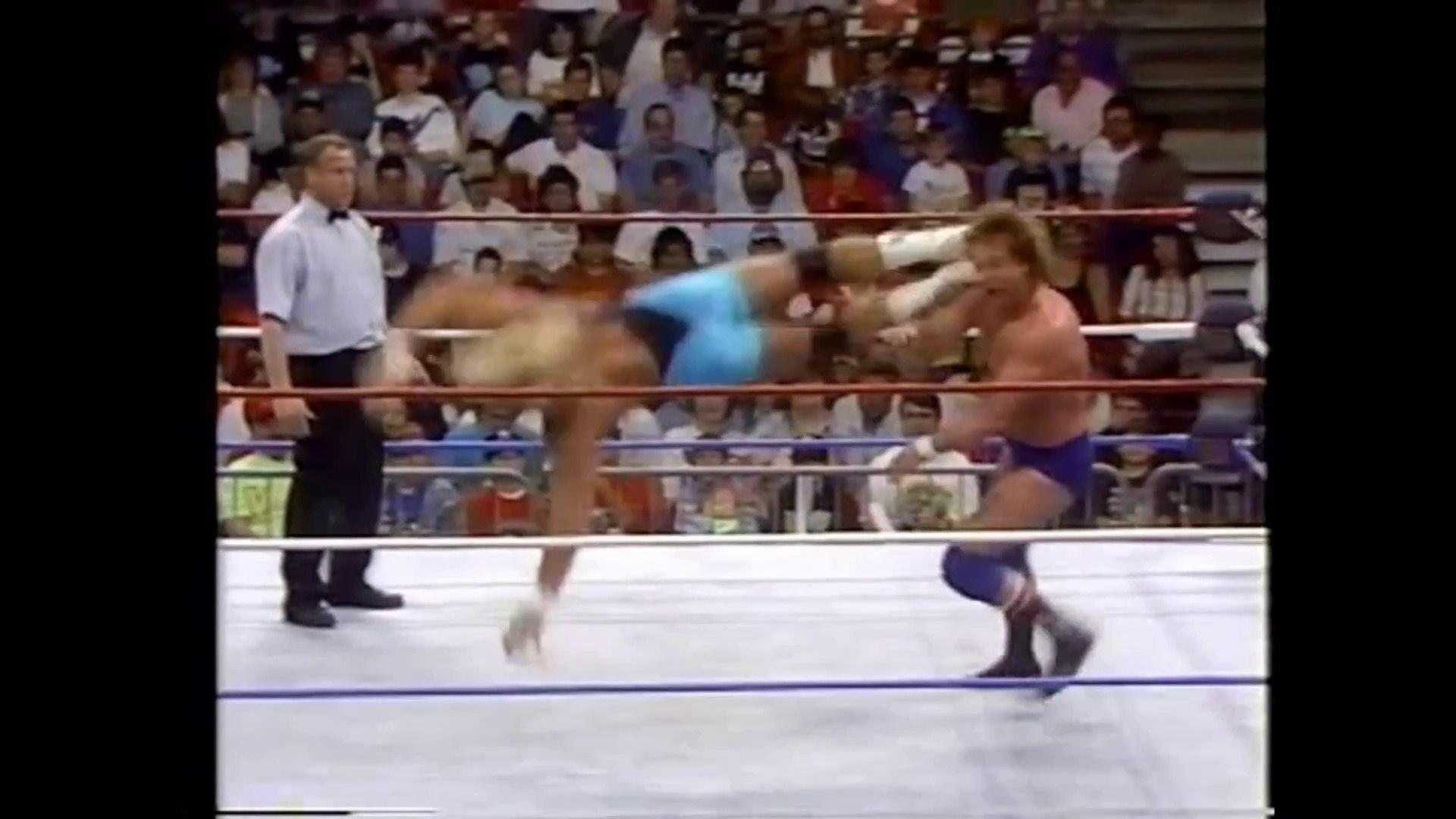 Mr. Perfect vs Rowdy Roddy Piper (February 1991)