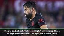 I have faith in Costa despite penalty miss - Simeone