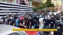 Hong Kong, nouveaux heurts entre manifestants et forces de l'ordre