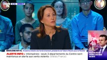 La réaction des Rouennais face au retour d'Emmanuel Macron sur les lieux, un mois après l'incendie de l'usine Lubrizol - 03/11