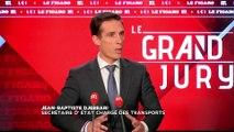 "Jean-Baptiste Djebbari était l'invité du ""Grand Jury"""