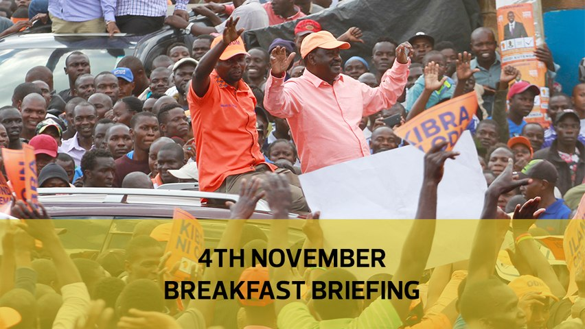 Do or die for Kibra |Uchumi's downfall| Refugee redefines destiny: Your Breakfast Briefing
