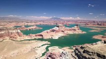 horseshoe bend, Lake Powell et Grand Canyon ( drone view)