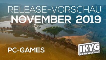 Games-Release-Vorschau - November 2019 - PC