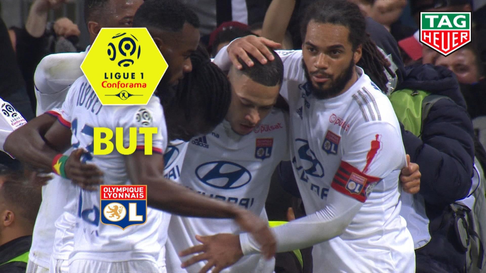 But Memphis DEPAY (90ème +5) / Toulouse FC - Olympique Lyonnais - (2-3) - (TFC-OL) / 2019-20