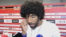 """Nice - Reims : """"Touché"""", """"Décevant""""… Dante et Vieira livrent leur ressenti sur les sifflets"""