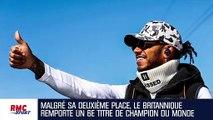 F1 : Hamilton décroche son 6e titre de champion du monde à Austin (et revient sur Schumacher)