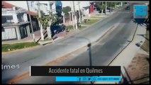 Quilmes: cuatro jóvenes murieron al chocar el auto en el que viajaban contra una palmera