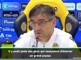 11e j. - Le coach de Verone nie tout chant raciste à l'encontre de Balotelli