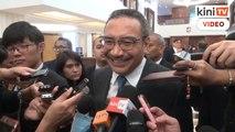 Hishammuddin ketawa kenyataan rapat dengan PM terlepas tindakan undang-undang