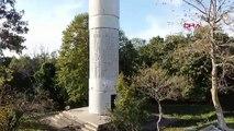 İstanbul boğazı'ndaki kurulmaya başlanan yeni sistemi dha görüntüledi
