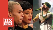 Eminem Raps About Chris Brown's Assault On Rihanna In Leaked Snippet