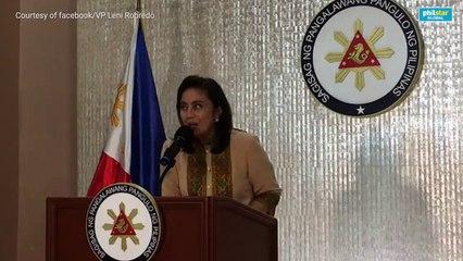VP Robredo accepts drug czar post