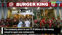 Burger King's India unit looks to raise Rs 400 crore in IPO
