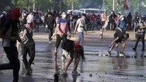 Fresh clashes erupt between Chile protesters and police