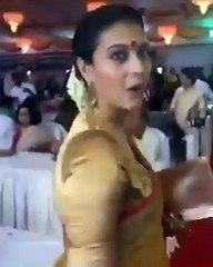 Kajol hot backless in saree