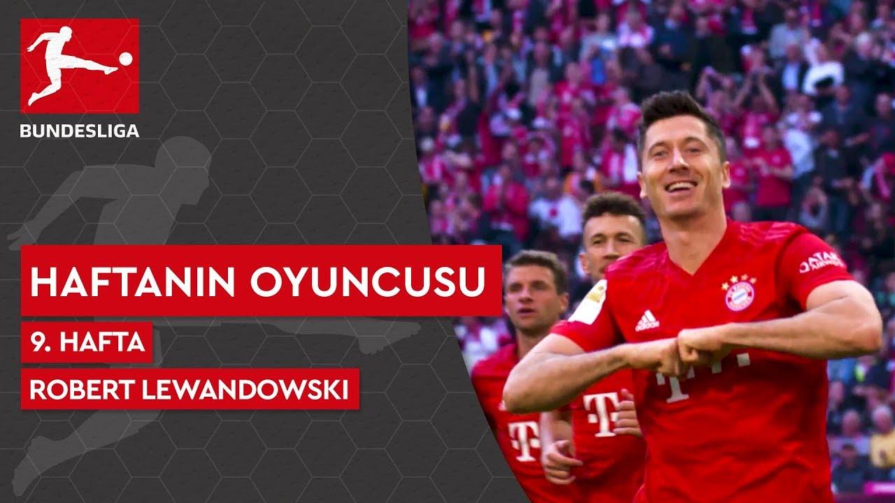 Bundesliga'da 9. Haftanın Oyuncusu | Robert Lewandowski (2019/20)