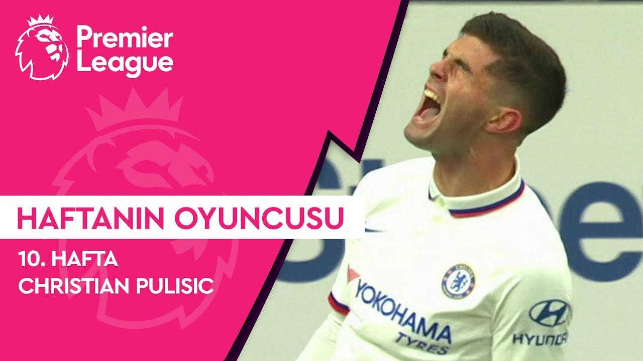 Premier League'de 10. Haftanın Oyuncusu | Christian Pulisic