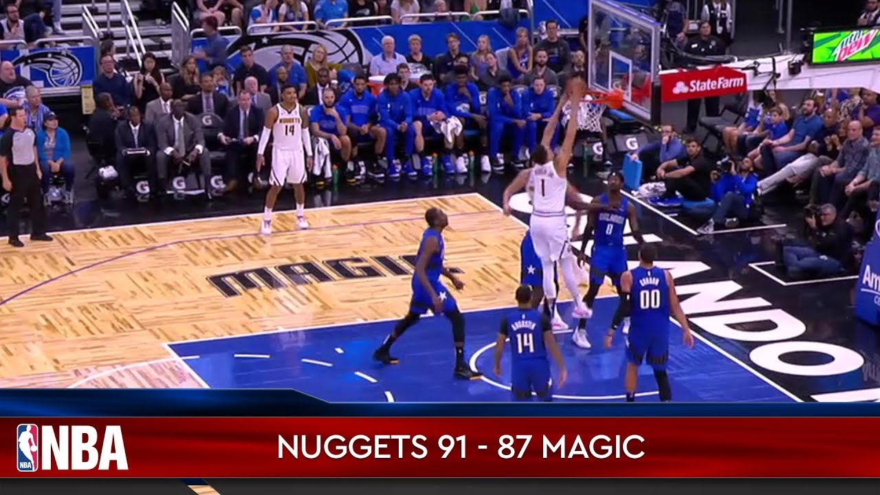 Denver Nuggets 91 - 87 Orlando Magic