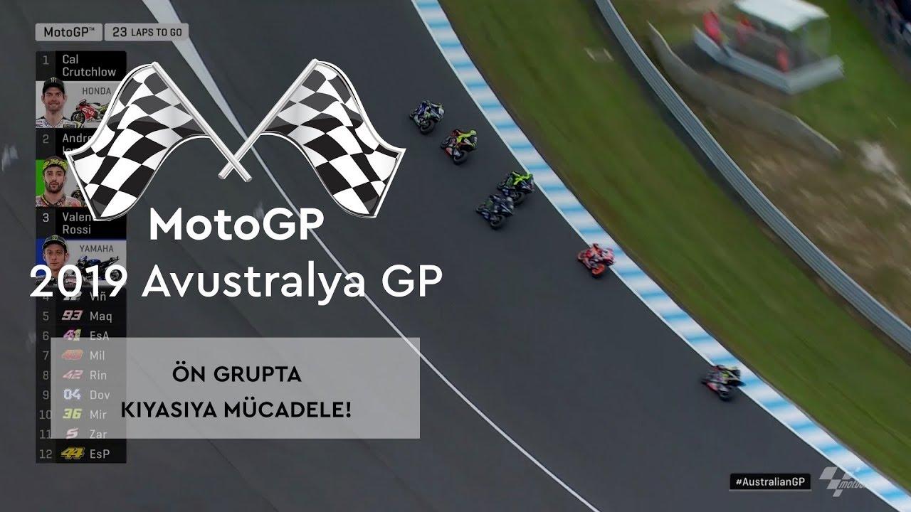 Ön Grupta Kıyasıya Mücadele! (MotoGP 2019 - Avustralya Grand Prix)