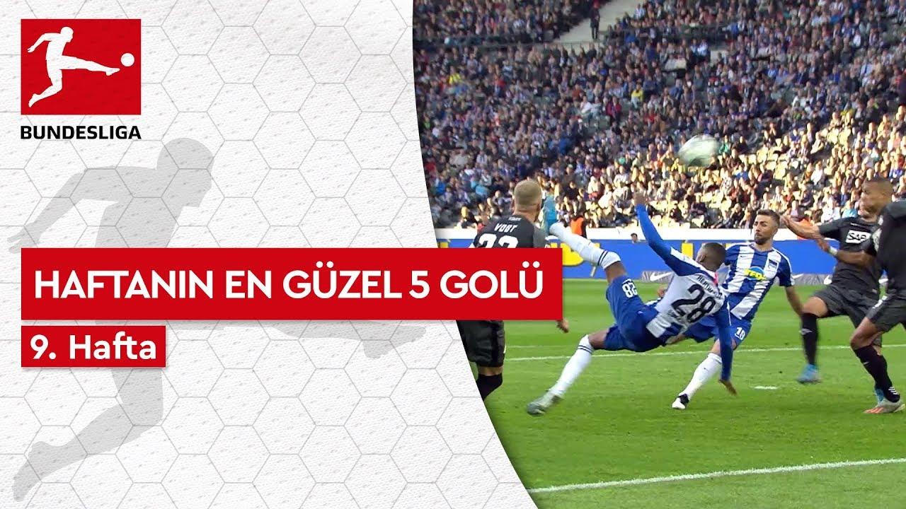 Bundesliga'da 9. Haftanın En Güzel 5 Golü (2019/20)