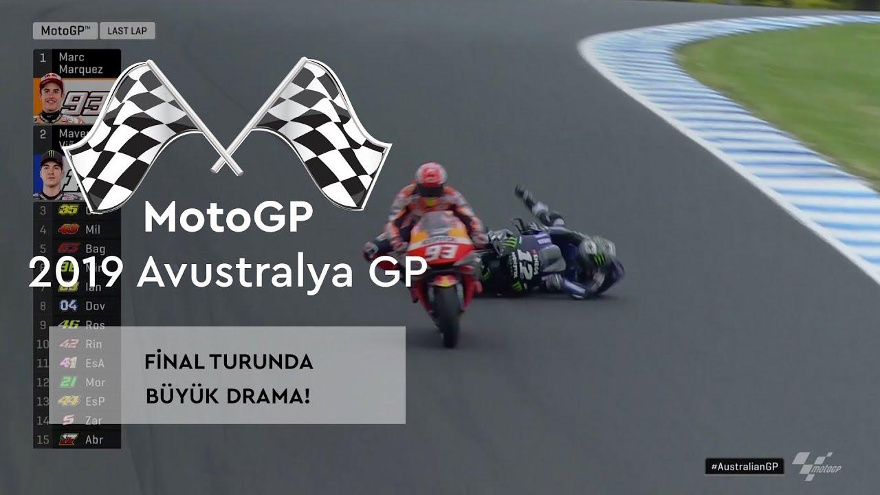 Son Turda Büyük Drama! (MotoGP 2019 - Avustralya Grand Prix)