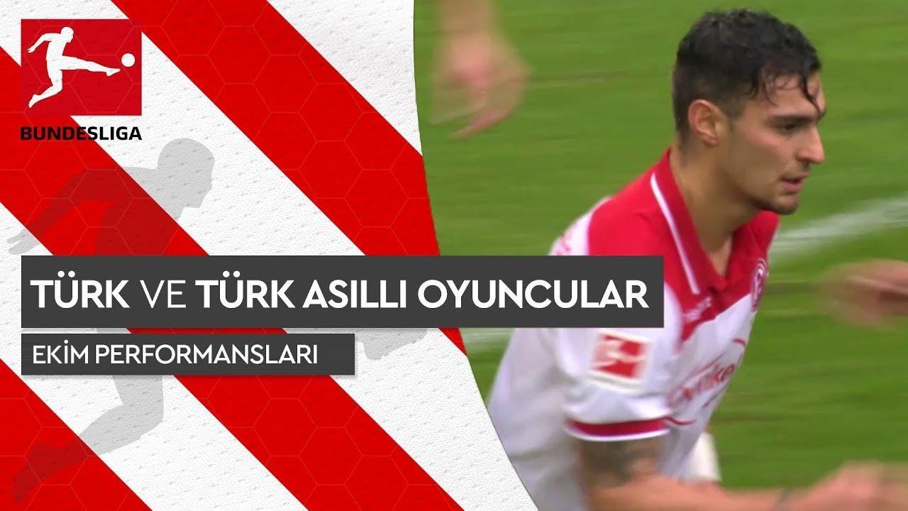 Bundesliga 2019/20 - Türk ve Türk Asıllı Futbolcular - Ekim Performansları