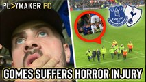Reactions | Andre Gomes injury: A fan's eye view of the moment Everton star suffered horrific leg break against Spurs