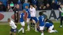 André Gomes sufre una terrible fractura de tobillo tras esta dura entrada del surcoreano del Tottenham