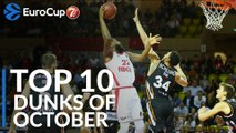 7DAYS EuroCup, Top 10 Dunks of October!