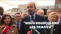 """Chanteloup les Vignes: Édouard Philippe dénonce """"une bande d'imbéciles"""""""