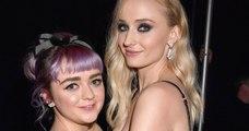 Game of Thrones : Sophie Turner et Maisie Williams, alias Sansa et Arya Stark, nouent une belle amitié