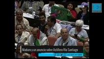 Venezuela anunció que financiará la terminación de dos buques fabricados en Ensenada