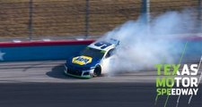 Elliott suffers trouble early at Texas