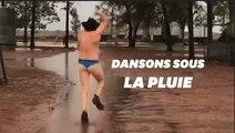 Les Australiens fous de joie après des pluies diluviennes tant attendues