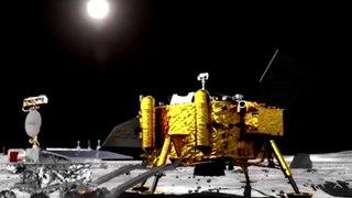 Rover chino Yutu-2 supera 300 metros en la cara oculta de la Luna