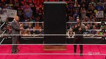 Sting ambushes Triple H and Seth Rollins - Raw - 24/08/ 2015