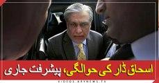 Progress in the return of Ishaq Dar