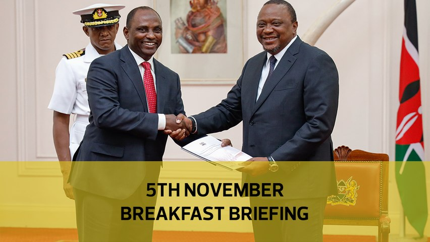 UhuRuto high stronghold population | Maraga fires shots| ODM sues IEBC over Kibra: Your Breakfast Briefing
