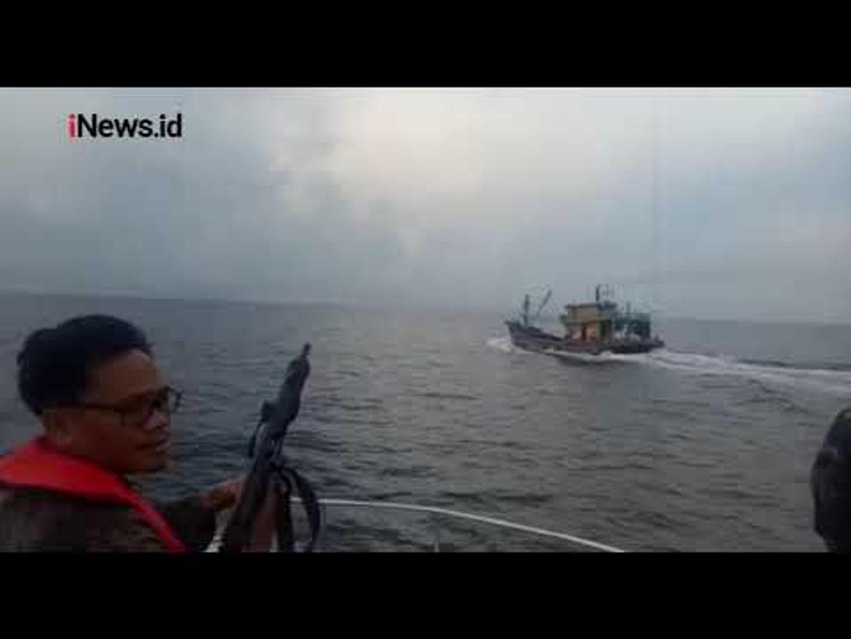 KKP Tangkap 2 Kapal Asing Berbendera Malaysia di Selat Malaka