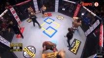 MMA : Un combat spéciale de 3 contre 3