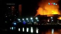 VIDEO: Gedung Hailai Ancol Terbakar