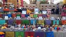 Dia de Los Muertos Ceremonial Alter in Las Vegas