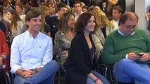 Dirigentes del PP siguen el debate desde la sede en Génova