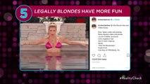 Reese Witherspoon & Jennifer Aniston Praise Kim Kardashian for 'Legally Blonde' Halloween Costume