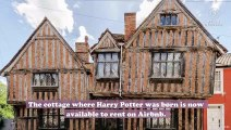 You can stay in Harry Potter's childhood home on Airbnb, and we're heading for the Floo Network right now