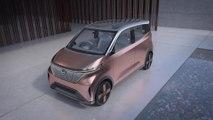 Der Nissan IMk concept - High-Tech-Funktionalität in einladendem Ambiente