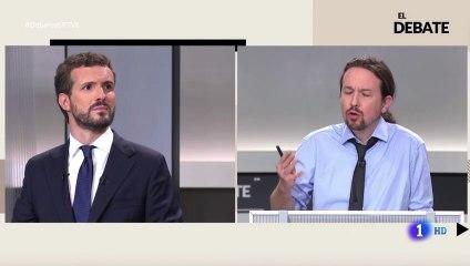 """El tremendo error de Pablo Iglesias al decir """"mamadas"""" en pleno debate electoral"""