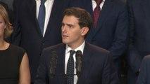 """Rivera asegura sentirse """"satisfecho"""" tras el debate a cinco"""